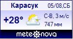 Погода в Карасуке - установите себе на сайт информер с прогнозом погоды