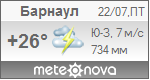 Погода от Метеоновы по г. Барнаул