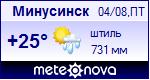 Погода в Минусинске - установите себе на сайт информер с прогнозом погоды
