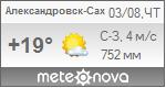 Погода от Метеоновы по г. Александровск-Сахалинский