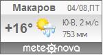Погода от Метеоновы по г. Макаров