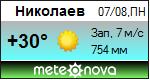 Погода от Метеоновы по г. Николаев