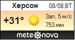 Погода від Метеонова по Херсону