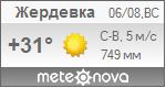 Погода от Метеоновы по г. Жердевка