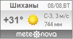 Погода от Метеоновы по г. Шиханы