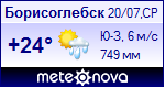 Погода в Борисоглебске - установите себе на сайт информер с прогнозом погоды