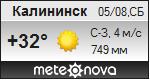 Погода от Метеоновы по г. Калининск