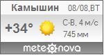 Погода от Метеоновы по г. Камышин