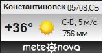 Погода от Метеоновы по г. Константиновск