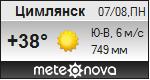 Погода от Метеоновы по г. Цимлянск