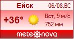 Погода от Метеоновы по г. Ейск