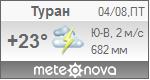 Погода от Метеоновы по г. Туран
