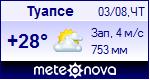Погода в Туапсе - установите себе на сайт информер с прогнозом погоды