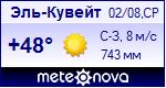 Погода в Эль-Кувейте - установите себе на сайт информер с прогнозом погоды