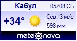 Погода в Кабуле - установите себе на сайт информер с прогнозом погоды
