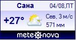 Погода в Сане - установите себе на сайт информер с прогнозом погоды