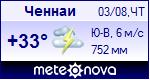 Погода в Ченнаи - установите себе на сайт информер с прогнозом погоды