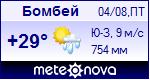 Погода в Бомбее - установите себе на сайт информер с прогнозом погоды