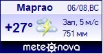 Погода в Маргао - установите себе на сайт информер с прогнозом погоды