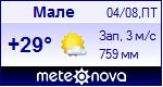 Погода в Мале - установите себе на сайт информер с прогнозом погоды