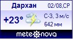 Погода в городе Дархан - установите себе на сайт информер с прогнозом погоды