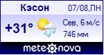 Погода в Кэсоне - установите себе на сайт информер с прогнозом погоды