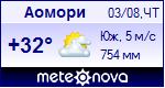 Погода в городе Аомори - установите себе на сайт информер с прогнозом погоды