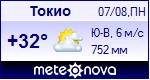 Погода в Токио - установите себе на сайт информер с прогнозом погоды