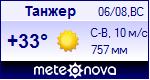 Погода в городе Танжер - установите себе на сайт информер с прогнозом погоды