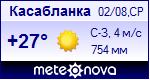 Погода в Касабланке - установите себе на сайт информер с прогнозом погоды