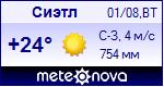Погода в Сиэтле - установите себе на сайт информер с прогнозом погоды