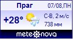 Погода в Праге - установите себе на сайт информер с прогнозом погоды