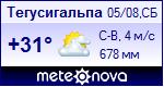 Погода в Тегусигальпе - установите себе на сайт информер с прогнозом погоды