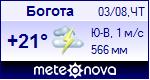 Погода в Боготе - установите себе на сайт информер с прогнозом погоды