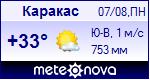 Погода в Каракасе - установите себе на сайт информер с прогнозом погоды