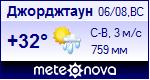 Погода в Джорджтауне - установите себе на сайт информер с прогнозом погоды