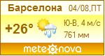 Погода от Метеоновы по г. Барселона