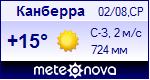 Погода в Канберре - установите себе на сайт информер с прогнозом погоды