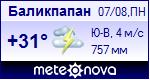 Погода в Баликпапане - установите себе на сайт информер с прогнозом погоды