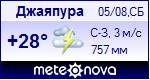 Погода в Джаяпуре - установите себе на сайт информер с прогнозом погоды