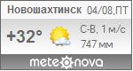 Погода от Метеоновы по г. Новошахтинск