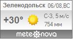 Погода от Метеоновы по г. Зеленодольск