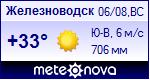 Погода в Железноводск - установите себе на сайт информер с прогнозом погоды