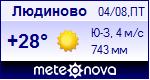 Погода в Людиново - установите себе на сайт информер с прогнозом погоды