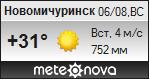 Погода от Метеоновы по г. Новомичуринск