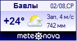 Погода в Бавлах - установите себе на сайт информер с прогнозом погоды