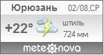 Погода от Метеоновы по г. Юрюзань