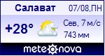Погода в Салавате - установите себе на сайт информер с прогнозом погоды