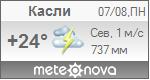 Погода от Метеоновы по г. Касли