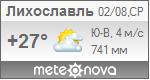 Погода от Метеоновы по г. Лихославль